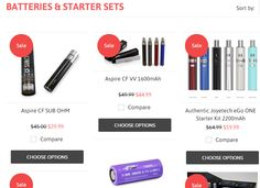 Are you looking to buy electronic cigarette starter kits, we would like to suggest you it is good for you and buy it from www.vaporyshop.com, it is the well trusted vapory shop, and provides the equal value for its client. Ring a call on 415-562-6752 and get your choices cigarettes kit as according to you with free shipping.
