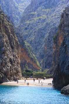 Sa Calobra beach, Mallorca, Spain