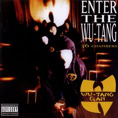not my favorite cover, but still love it because of what is within - wu-tang clan - enter the 36 chambers