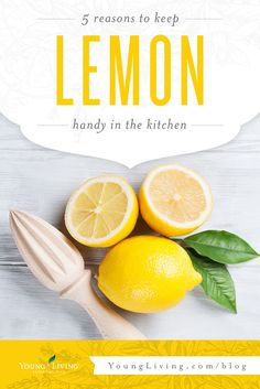 Nothing brightens up a kitchen better than Lemon and Lemon Vitality! Find out why you should always have these bottles on hand, plus how to win some for yourself!
