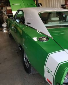 Rallye Green (mid-year color) '69 Charger R/T. #VintageMuscleCars