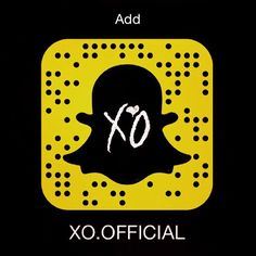 Photo of The Weeknd: xo. Add Snapchat Friends, Famous People Snapchat, Snapchat Girls, The Weeknd, Celebrity Snapchat Accounts, Kiss Land, House Of Balloons, Beauty Behind The Madness, Are You Not Entertained