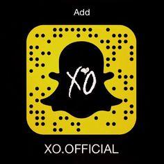 Pin for Later: 102 Célébrités à Suivre Sur Snapchat The Weeknd: xo.official