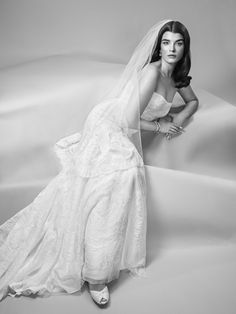 Truly Zac Posen Strapless Lace Wedding Dress at David's Bridal
