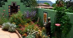 Picture a garden filled with colorful flowering plants with hummingbirds hovering about.   Now imagine that this garden is located in a sma...