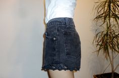 shots high waisted with lace size 8 by CasualD on Etsy, $19.00