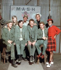 The 'MASH' TV show remains one of the greatest examples of Classic TV. This is a behind-the-scenes look at the television series and movie that inspired it. Father Mulcahy, Wayne Rogers, Mash 4077, Old Shows, 70s Tv Shows, Comedy Tv, Great Tv Shows, Vintage Tv, Me Tv