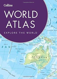 Oxford atlas of the world atlases pinterest perfect for map crafts framing wrapping travel gifts or scrapbooking with its 89 x gumiabroncs Images