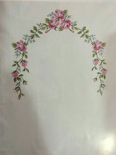 This Pin was discovered by Zül Cross Stitch Love, Cross Stitch Borders, Cross Stitch Flowers, Cross Stitch Designs, Cross Stitching, Cross Stitch Patterns, Hand Embroidery Dress, Crewel Embroidery, Cross Stitch Embroidery