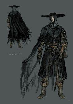 Dark Souls 3 Concept Art - NPC Concept Art