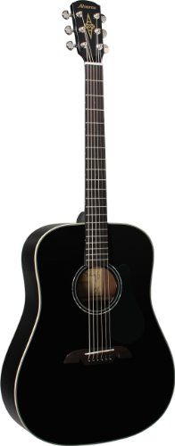 Alvarez RD410BK Regent Series Dreadnought Acoustic Guitar