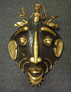Turtle shell mask, Cameroon