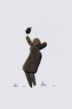 Pebble art of ns by PebbleArt on Etsy, $99.00
