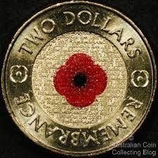 2012 Red Poppy $2 - australian