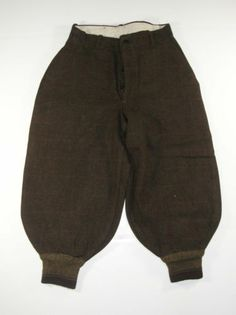 Vintage Brown Tweed 20s 30s Tweed Wool Boys Lined Pants Knickers 24x21 1300 | eBay
