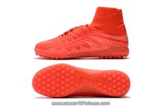 Nike Mens HypervenomX Proximo TF High Top Football Boots Turf Soccer Shoes Red $76.00