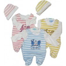 Striped babies suit set £5.50