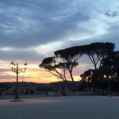 Love sunsets in #Rome by browsingrome