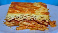 Παστίτσιο με ριγκατόνι και λουκάνικο – tselemedes.gr