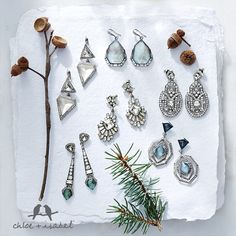 Shop these gorgeous statement earrings and much, much more on my online boutique!  http://www.chloeandisabel.com/boutique/alysiagratton/9d4984