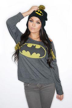 batman girl sweater