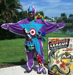 Starro cosplay by Will Romine