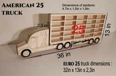 Car toy shelf storage American 25 Toy Shelves, A Shelf, Orange Color, Trucks, American, Toys, Simple, Car, Blue