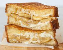 Bananas Foster Grilled Cheese   Wisconsin Milk Marketing Board