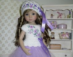 Embroidered Elegance dress and slip for Dianna by DarlingLilBee