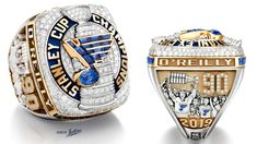 See the St. Louis Blues' 2019 Stanley Cup Championship ring from all angles. Stanley Cup Rings, Blues Nhl, Gold Backdrop, Super Bowl Rings, The Sporting Life, Word Mark Logo, Stanley Cup Champions, St Louis Blues, Championship Rings