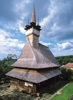 Romanian all  wood church...not a single iron nail...