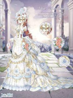 White Masquerade - Love Nikki
