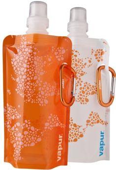 Vapur 2 Orange 0,4 0.4 Litres – Botella de agua para bicicletas