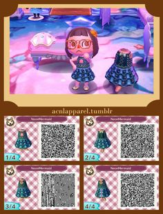 Image of: Winter Outfits Animal Crossing New Leaf Qr Code Winter Outfits Zoshwikico Source Animal Crossing Qr Codes Dresses Labzada Shirt Acnl Qr Codes Animal Crossing Codes Qr Codes