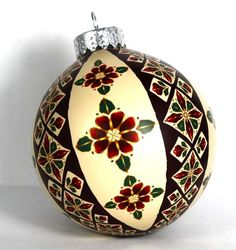 How to Cover a Glass Ball with Square Cane Slices by Polymer Clay Workshop's Meg Newberg