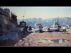 How to paint from memory - Watercolour Demonstration by Tim Wilmot #17