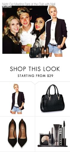 """Night Out Meeting Fans at the Club with Niall"" by elise-22 ❤ liked on Polyvore featuring Givenchy and LORAC"
