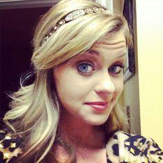 Jaden Leach Miss Louisiana 2013 wearing Pink Pewter hair accessory style Brandy ☆