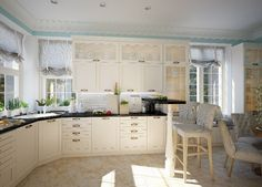 Ideas luxurious traditional kitchens inviting