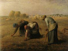 Le réalisme - Jean-François Millet - Les glaneuses( 1857).