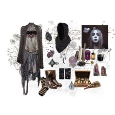the woods witch by eatdaisies on Polyvore featuring B*+S, Bohemian Society, Kimberly McDonald, ASOS, By Terry and PATH