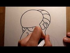 "8th drawing: Mr. Burns ""Charles Montgomery Burns"" (Simpsons) [HD] - YouTube"