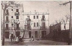 Plaça de Victor Balaquer, plaça de l'antiga vila de Sants, coneguda tambe com la plaça del Ninyu,