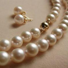 Fashion Wedding Jewelry Set-white Pearl Sets