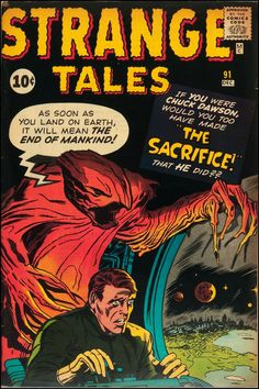 Marvel Comics' Strange Tales.  | comic art inspiration | digital media arts college | www.dmac.edu | 561.391.1148