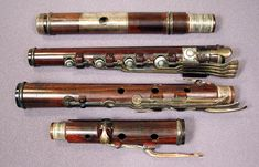 13 keys simple system flute (Rudall & Rose)