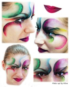 Image detail for -Make-up by Alina: Cirque Du Soleil in Romania