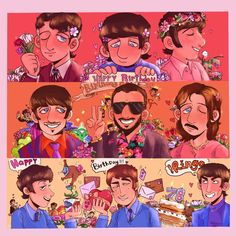 Beatles Love, Beatles Art, Have A Nice Life, The Fab Four, Yellow Submarine, Saddest Songs, Ringo Starr, Gorillaz, Lady And Gentlemen