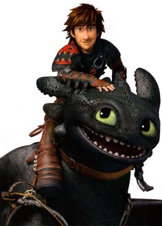 hiccup and toothless ... httyd2