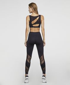 New Sport Fitness Fashion Active Wear Ideas Yoga Fashion, Sport Fashion, Fitness Fashion, Crop Top And Leggings, Purple Leggings, Moda Fitness, Womens Workout Outfits, Sport Outfits, Estilo Fitness